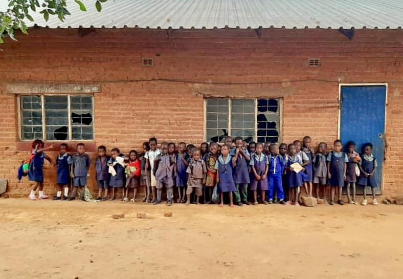Schooltje Zimbabwe